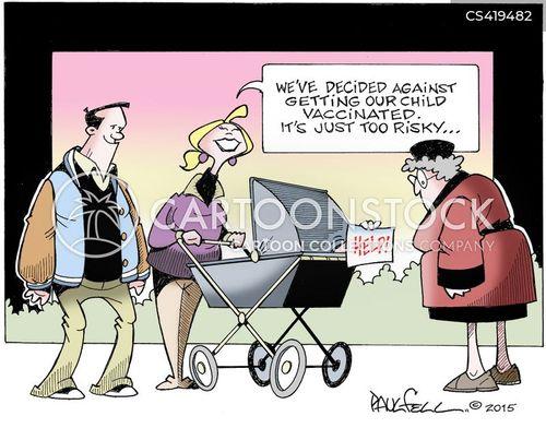 measles outbreaks cartoon