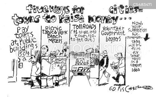 city government cartoon