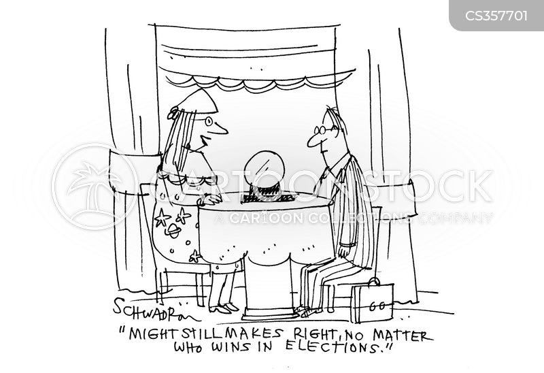 government officials cartoon