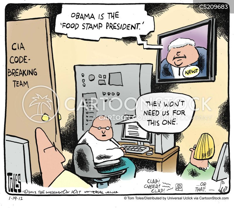 newt gingrich cartoon