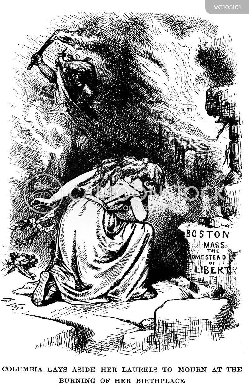 Boston Fire cartoons, Boston Fire cartoon, funny, Boston Fire picture, Boston Fire pictures, Boston Fire image, Boston Fire images, Boston Fire illustration, Boston Fire illustrations