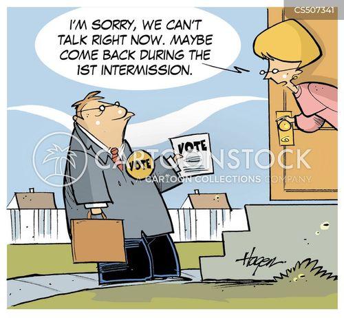 advert breaks cartoon