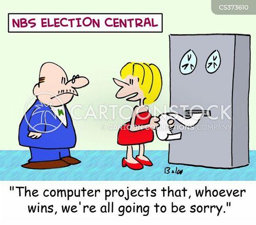 election central cartoon