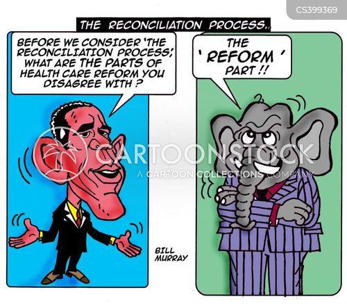 conciliation cartoon