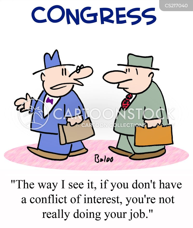 Conflict of Interest Cartoons Free Conflict of Interests Cartoon