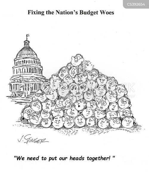 budget deal cartoon