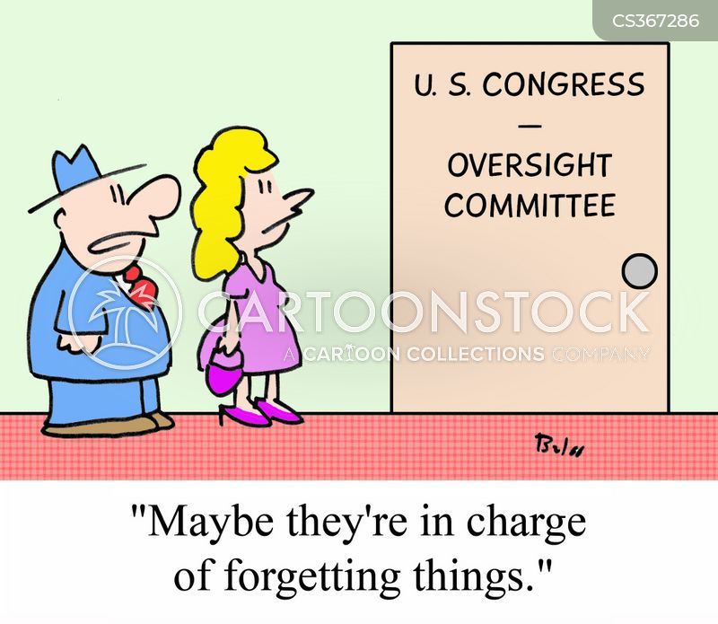 oversight cartoon