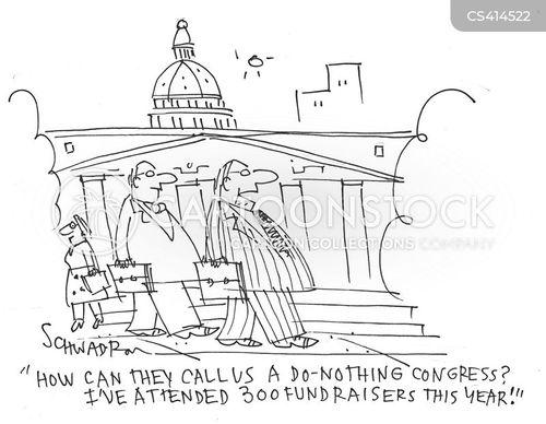 political office cartoon