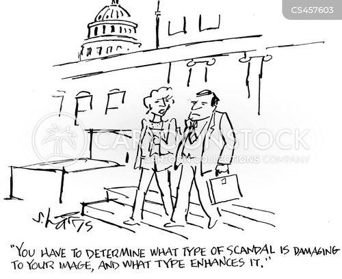 p.r. cartoon