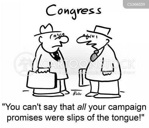 slip of the tongue cartoon