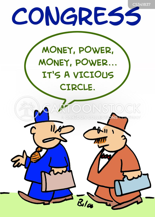 vicious circle cartoon