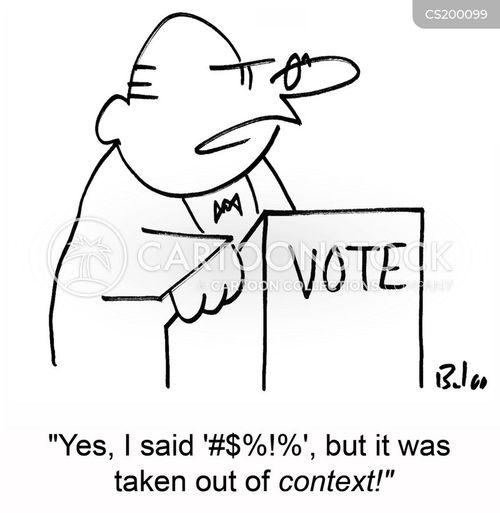 context cartoon