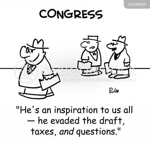 evaded cartoon