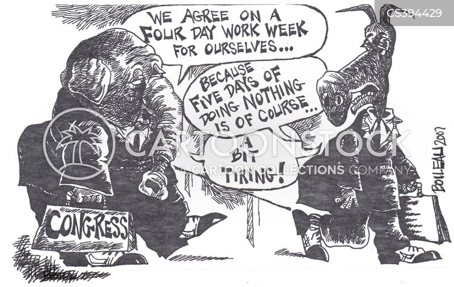 four day week cartoon