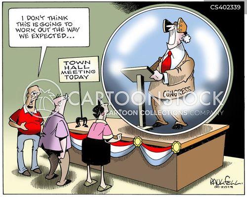 inaction cartoon