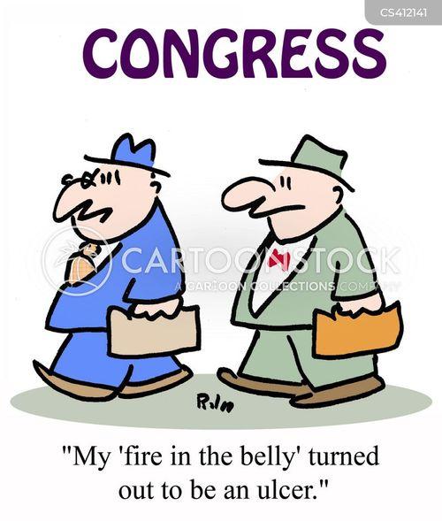 ulcers cartoon