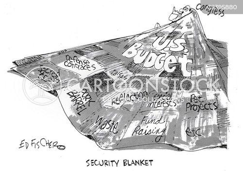 security blanket cartoon