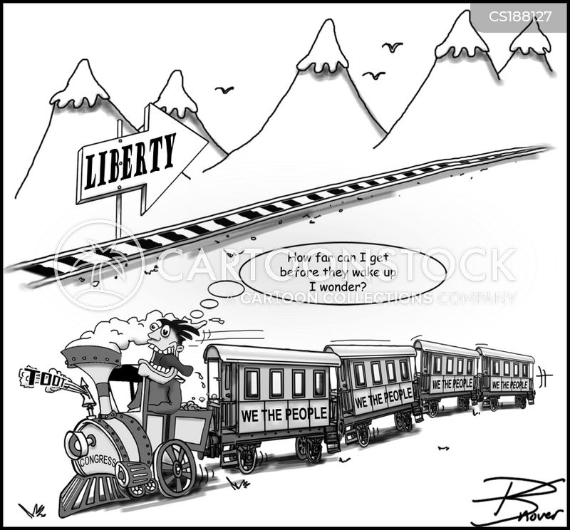 traintrack cartoon