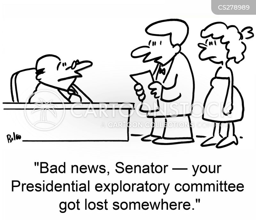 campaign presidential cartoon