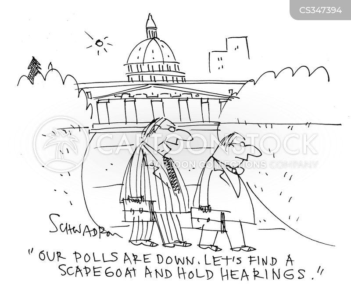 hearings cartoon