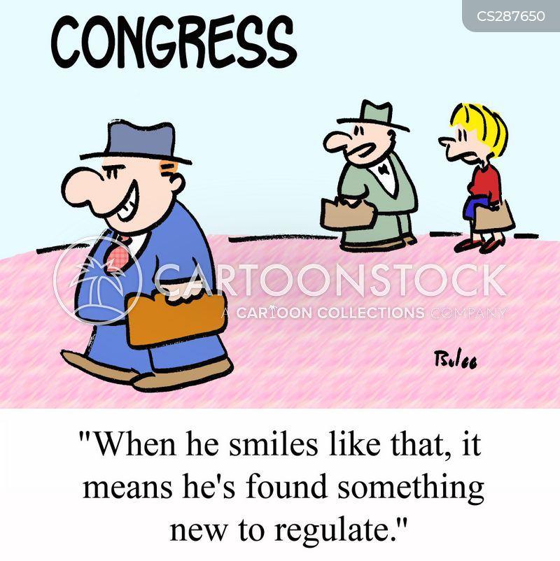 regulating cartoon