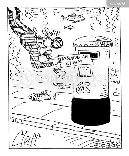 rail crisis cartoon