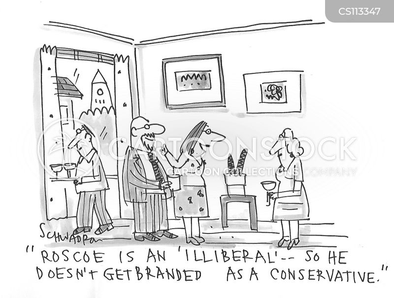 labelling cartoon