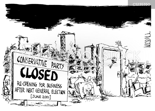 re-opening cartoon