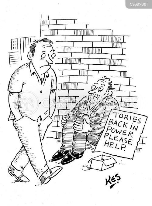 benefit cuts cartoon