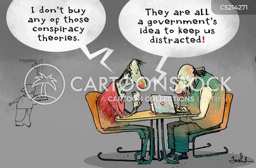 government secrets cartoon