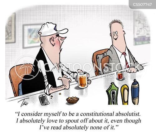 constitutional law cartoon