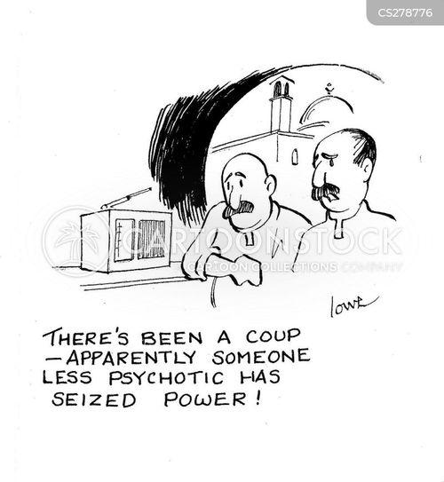 psychotic cartoon