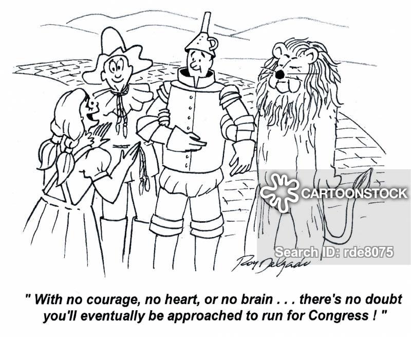 bravery cartoon