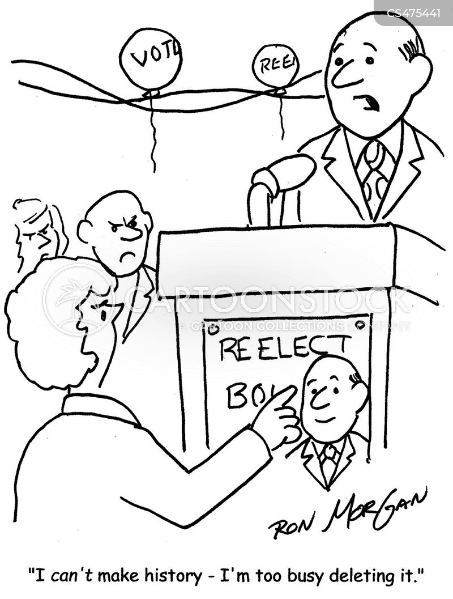 re-electing cartoon