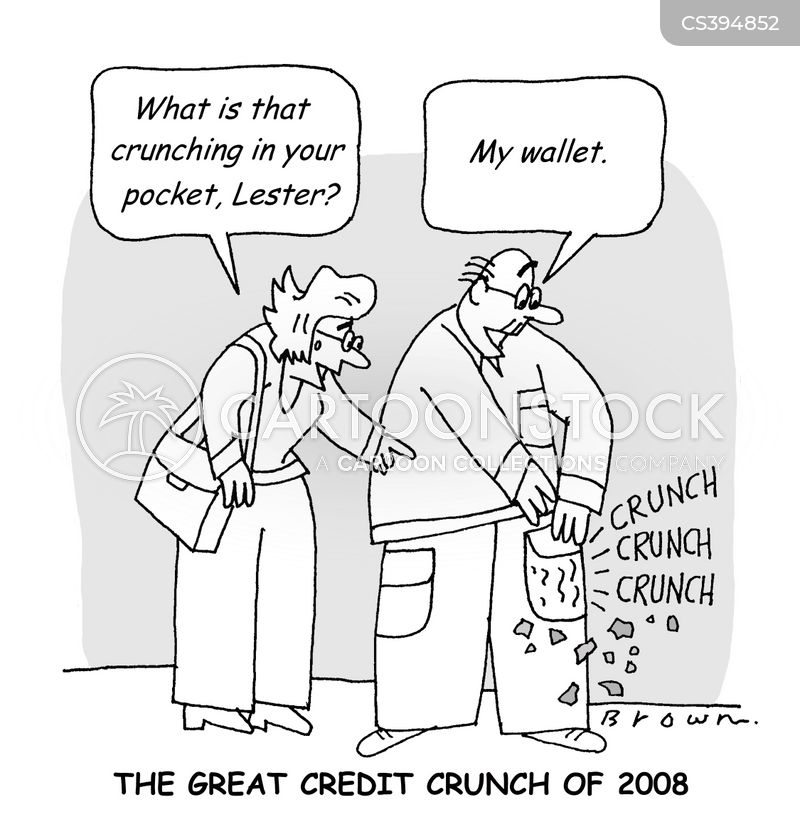 crunches cartoon