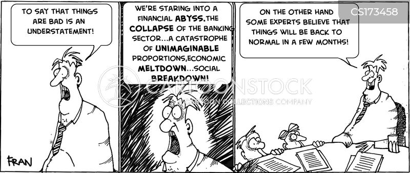 great recession cartoon