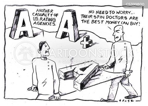 standard and poor cartoon