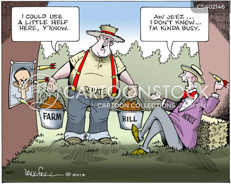 farm bill cartoon