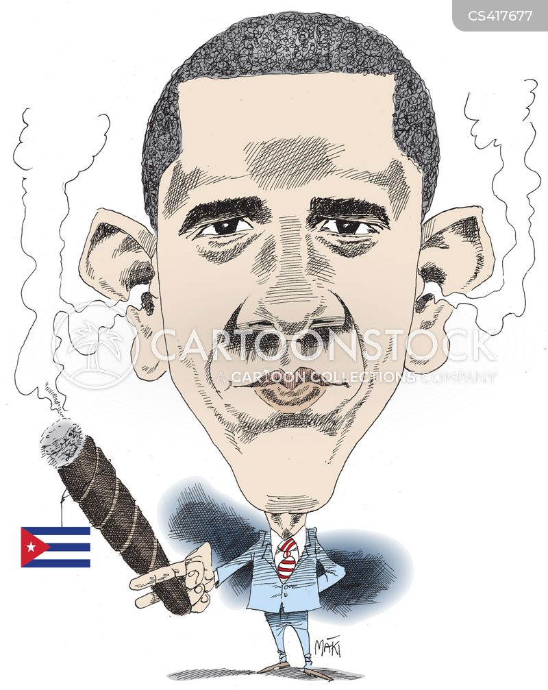 us-cuban relations cartoon