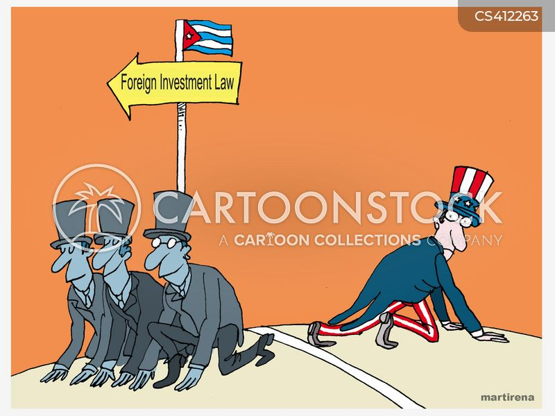 foreign investor cartoon