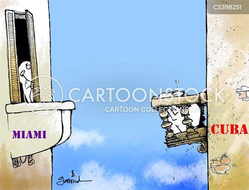 miami cartoon