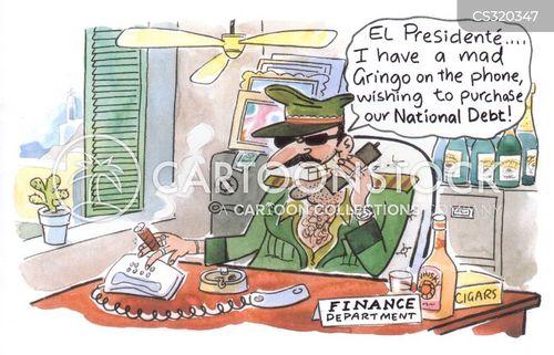 gringos cartoon