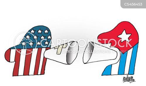 cuban politics cartoon