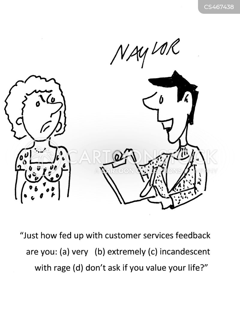Feedback Form Cartoons And Comics  Funny Pictures From Cartoonstock
