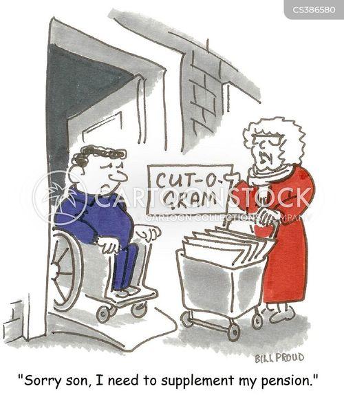 austerity cuts cartoon
