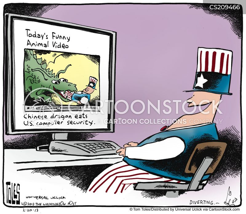 us-chinese relations cartoon