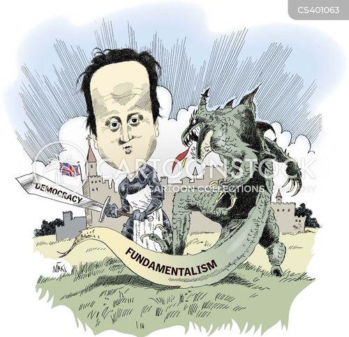 religious fundamentalism cartoon