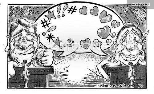 public debate cartoon