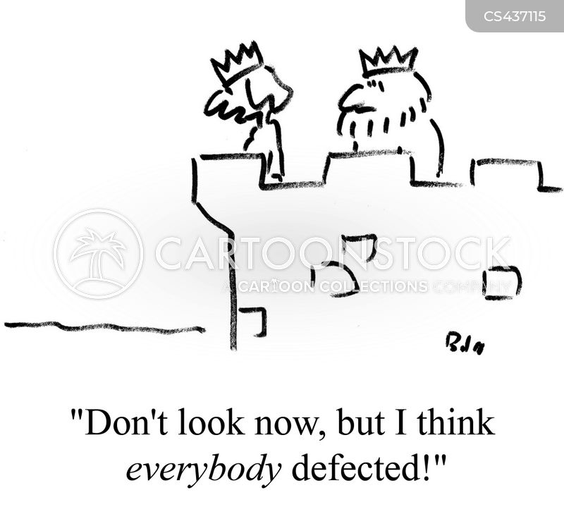 defected cartoon