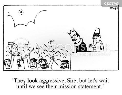 mob rule cartoon